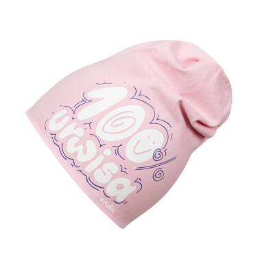Endo - Czapka wiosenna dla dziecka do 2 lat, różowa N03R034_1 26