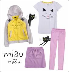 Zestaw dla małej dziewczynki z linii Mam kota D013_MD