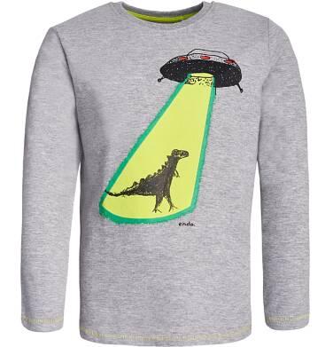 Endo - T-shirt z długim rękawem dla chłopca 3-8 lat C82G058_1