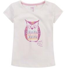 Bluzka z krótkim rękawem dla dziewczynki 4-8 lat D71G140_1