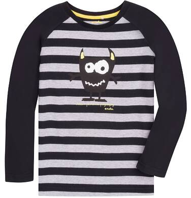 Endo - Koszulka z długim reglanowym rękawem dla chłopca 3-8 lat C72G063_1