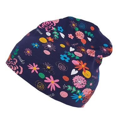 Endo - Czapka z cienkiej dzianiny dla dziewczynki 0-3 lata N81R007_2