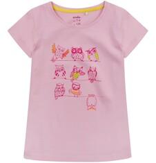Bluzka z krótkim rękawem dla dziewczynki 4-8 lat D71G137_1
