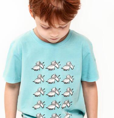 Endo - T-shirt z krótkim rękawem dla chłopca 3-8 lat C91G005_1