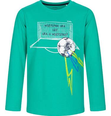 Endo - T-shirt z długim rękawem dla chłopca, wszystko gra, zielony, 9-13 lat C92G525_1
