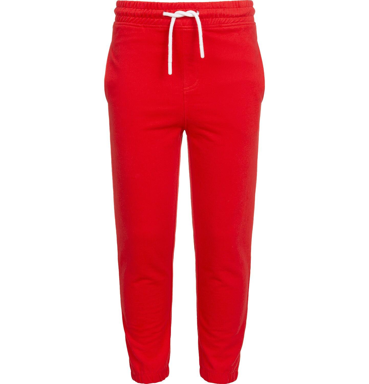 Endo - Spodnie dresowe dla chłopca, czerwone, 2-8 lat C05K020_2