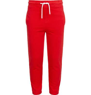 Spodnie dresowe dla chłopca, czerwone, 2-8 lat C05K020_2