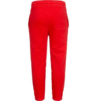 Endo - Spodnie dresowe dla chłopca, czerwone, 2-8 lat C05K020_2 8