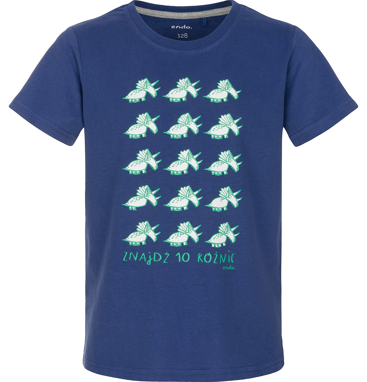 Endo - T-shirt z krótkim rękawem dla chłopca 3-8 lat C91G005_2