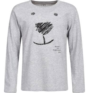 Endo - T-shirt z długim rękawem dla chłopca 3-8 lat C82G135_1