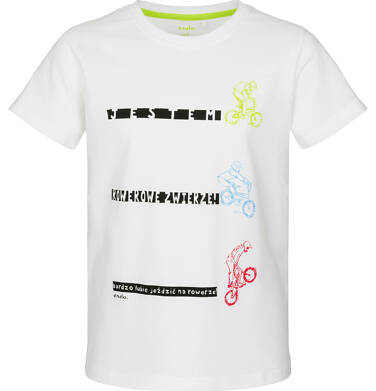 Endo - T-shirt z krótkim rękawem dla chłopca 3-8 lat C91G010_1