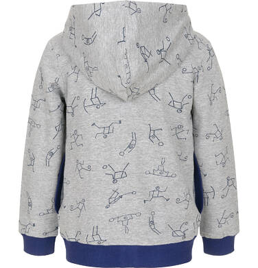 Endo - Bluza rozpinana dla chłopca 3-8 lat C91C032_1