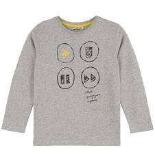 Melanżowy t-shirt z długim rękawem dla chłopca C61G003_1