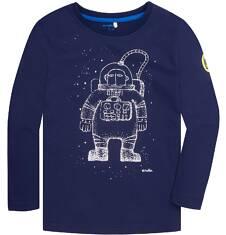 T-shirt z długim rękawem dla chłopca 9-13 lat C72G573_1