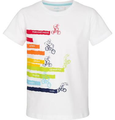 Endo - T-shirt z krótkim rękawem dla chłopca 3-8 lat C91G011_1