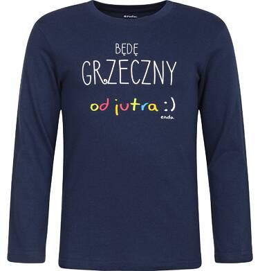 Endo - T-shirt z długim rękawem dla chłopca 3-8 lat C82G136_1