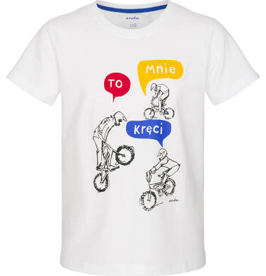 Endo - T-shirt z krótkim rękawem dla chłopca 3-8 lat C91G012_1