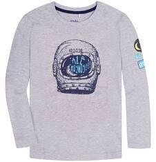 T-shirt z długim rękawem dla chłopca 9-13 lat C72G574_1