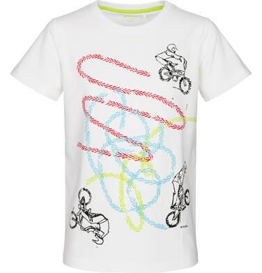 Endo - T-shirt z krótkim rękawem dla chłopca 3-8 lat C91G013_1