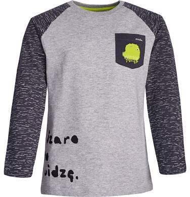 Endo - T-shirt z długim rękawem dla chłopca 9-13 lat C82G569_1