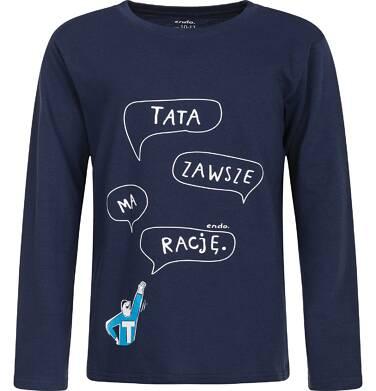 Endo - T-shirt z długim rękawem dla chłopca 9-13 lat C82G637_1