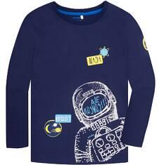 T-shirt z długim rękawem dla chłopca 9-13 lat C72G576_1
