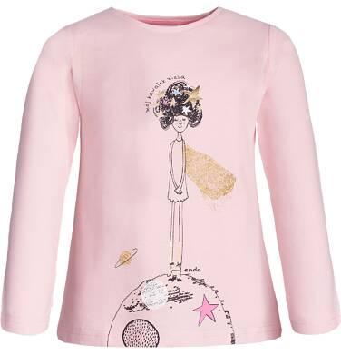 Endo - T-shirt dla dziewczynki 3-8 lat D82G035_1