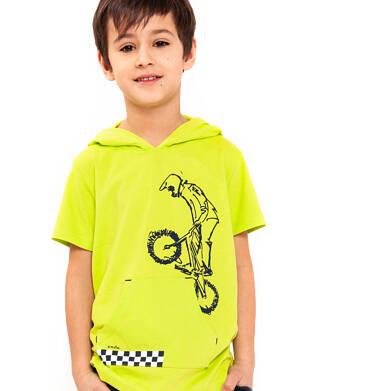 Endo - T-shirt z krótkim rękawem dla chłopca 3-8 lat C91G022_1