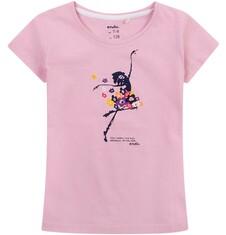 Bluzka z krótkim rękawem dla dziewczynki 4-8 lat D71G102_1