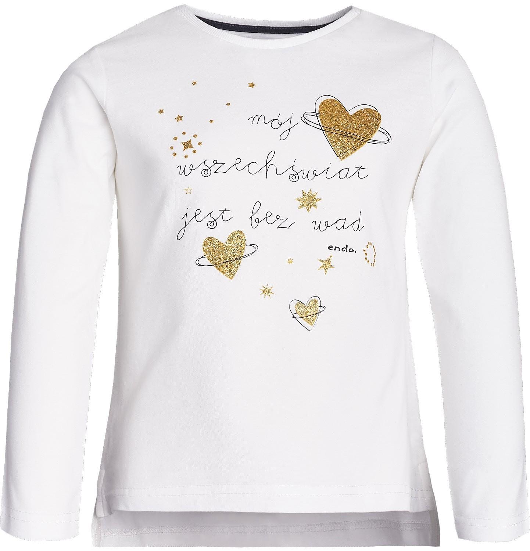 Endo - T-shirt dla dziewczynki 3-8 lat D82G037_1