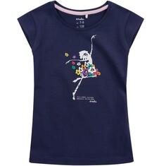 Bluzka z krótkim rękawem dla dziewczynki 4-8 lat D71G101_1