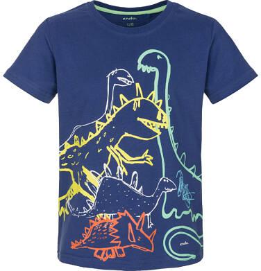 Endo - T-shirt z krótkim rękawem dla chłopca 3-8 lat C91G033_2
