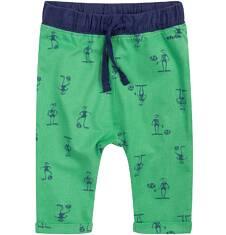 Spodnie dresowe z obniżonym krokiem dla dziecka 0-3 lat N71K018_1