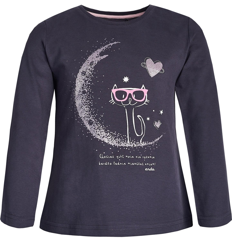 Endo - T-shirt dla dziewczynki 3-8 lat D82G038_1