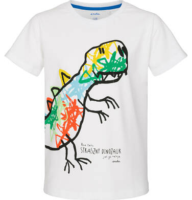 Endo - T-shirt z krótkim rękawem dla chłopca 3-8 lat C91G034_2