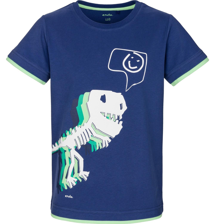 Endo - T-shirt z krótkim rękawem dla chłopca 3-8 lat C91G038_1