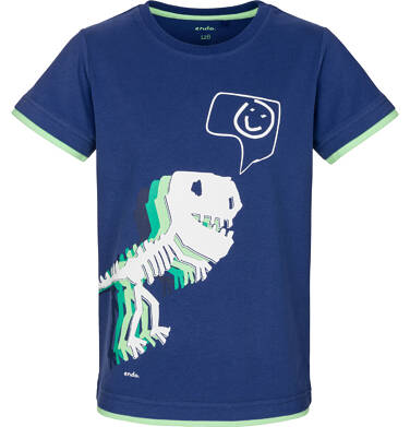 T-shirt z krótkim rękawem dla chłopca 3-8 lat C91G038_1