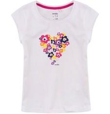 Bluzka z krótkim rękawem dla dziewczynki 9-13 lat D71G599_1
