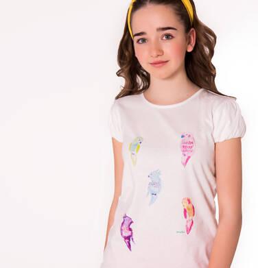 Endo - Bluzka z krótkim rękawem dla dziewczynki 9-13 lat D81G634_1