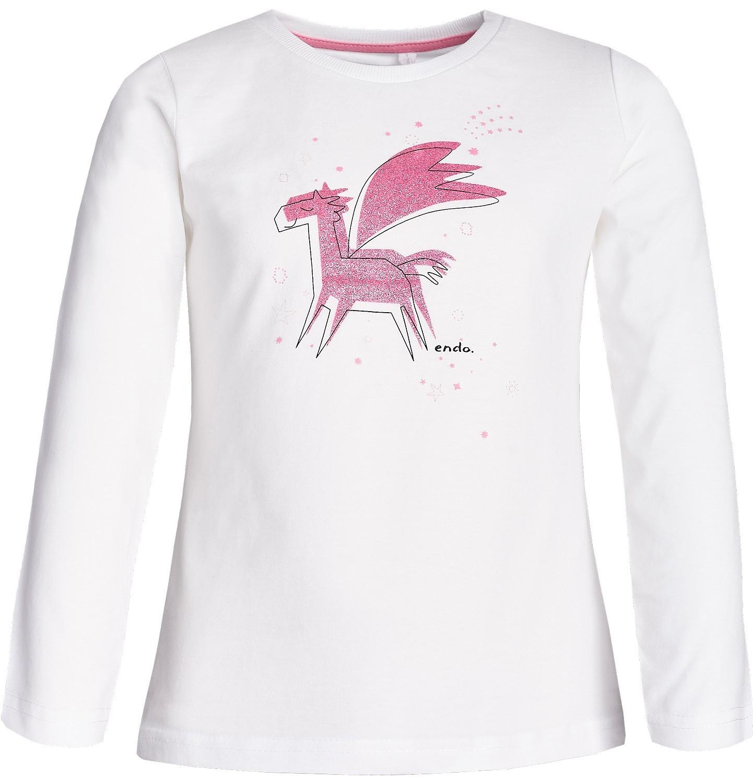 Endo - T-shirt dla dziewczynki 3-8 lat D82G041_1