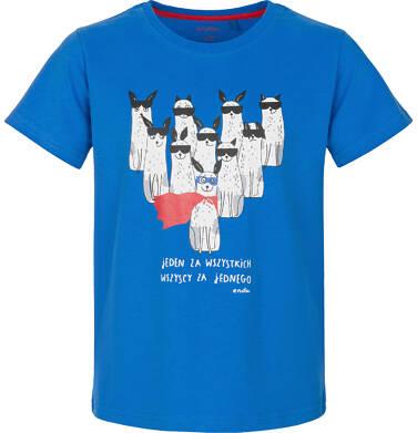 Endo - T-shirt z krótkim rękawem dla chłopca 3-8 lat C91G044_1