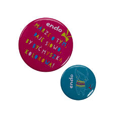 Endo - Przypinki - zestaw SDV42Z8_1