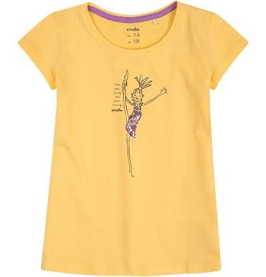 Endo - Bluzka z krótkim rękawem dla dziewczynki 9-13 lat D71G592_1