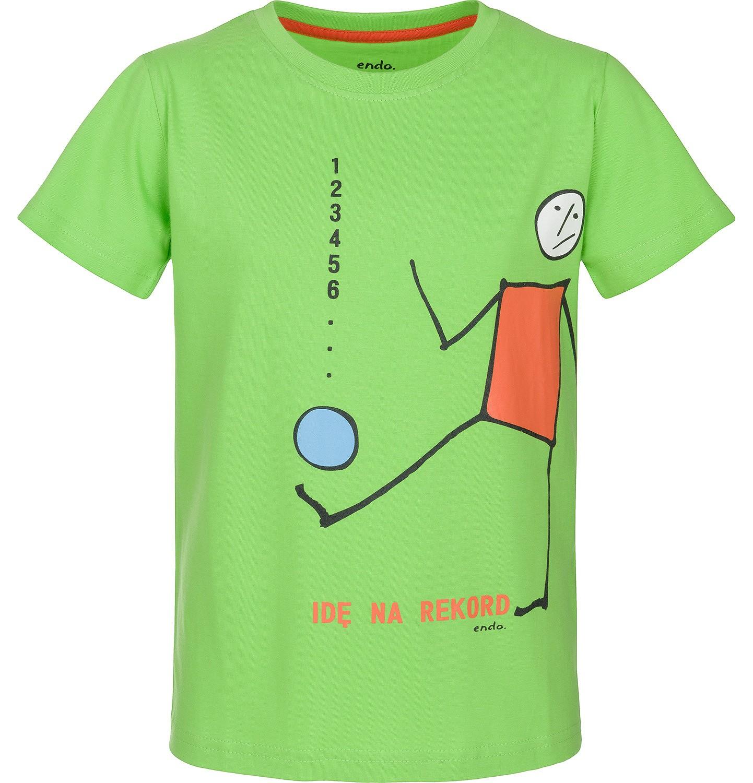 Endo - T-shirt z krótkim rękawem dla chłopca 3-8 lat C91G074_1
