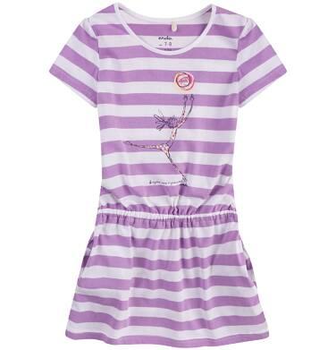 Endo - Sukienka z krótkim rękawem  dla dziewczynki 4-8 lat D71H037_1