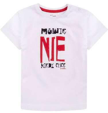 Endo - Bluzka z krótkim rękawem  dla dziecka 2-3 lat N71G090_1