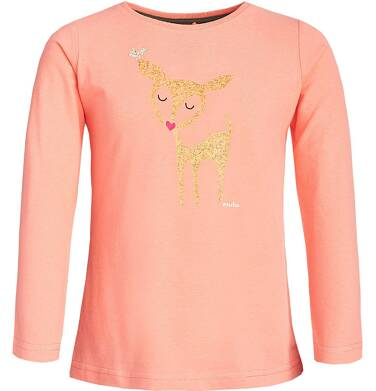 Endo - Bluzka z długim rękawem dla dziewczynki 3-8 lat D82G082_1