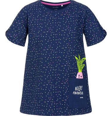 Endo - Tunika z krótkim rękawem dla dziewczynki 3-8 lat D91G029_1