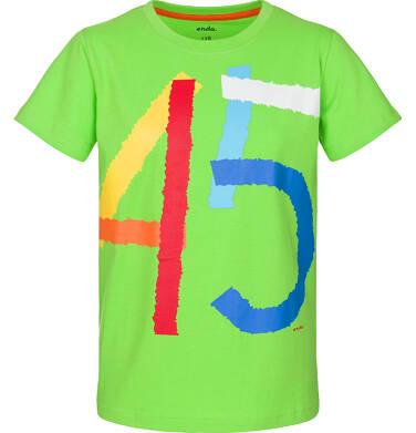 Endo - T-shirt z krótkim rękawem dla chłopca 3-8 lat C91G075_2