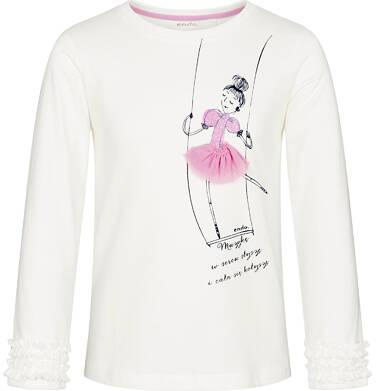 Endo - Bluzka z długim rękawem dla dziewczynki 3-8 lat D92G042_1